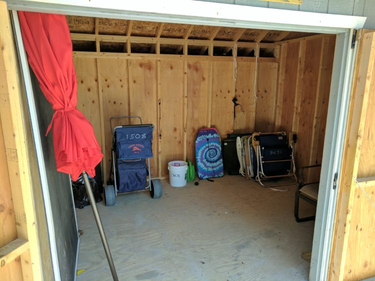 Shed Interior