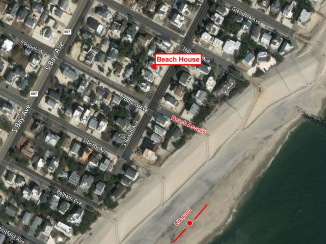 Beach Map