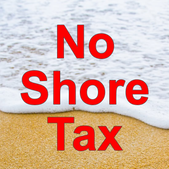 No Shore Tax