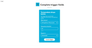 Customize trigger fields