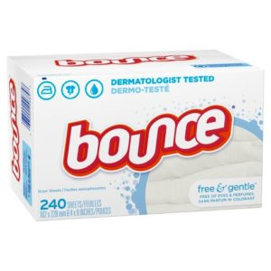 Bounce Free & Gentle Fabric Softener