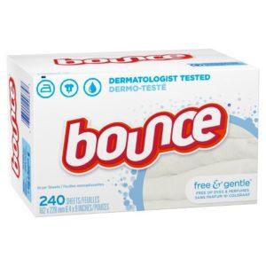 Bounce Free & Gentle Fabric Softener